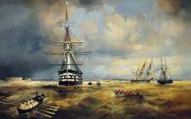 В Музее истории Кронштадта открылась выставка Айвазовского