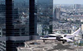 Трехвентиляторный гибридный самолет получит турбовинтовой двигатель