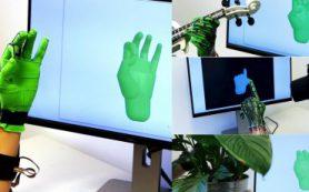 Новая «умная» перчатка точно копирует положение руки