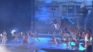 Спектакль «Грифон» представили в музее-заповеднике «Херсонес Таврический»