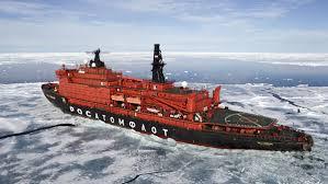Ледокол «50 лет Победы» со школьниками вернулся из рейса к Северному полюсу