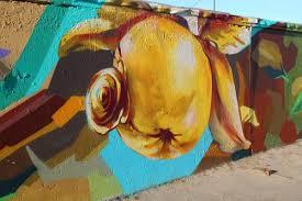 В Омске — выставка работ граффити-художников