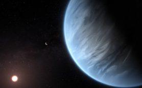 Возможно, найдена первая экзопланета с влажной атмосферой