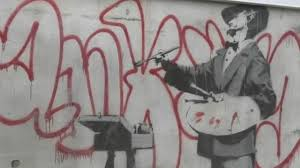 Фреску Бэнкси нашли на стене здания в районе Ноттинг-Хилл в Лондоне