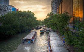 Бангкок решил превратить старые водные каналы в туристические маршруты