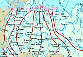 Глубину промерзания почвы рассчитали по данным со спутника