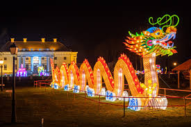 Большой азиатский фестиваль фонарей открылся в Эстонии