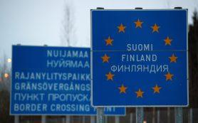 Туристов из Питера предупредили о пробках на границе с Финляндией