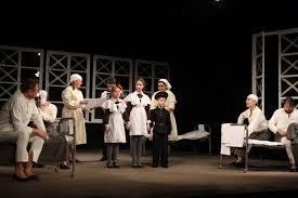 В Учебном театре ГИТИСа поставили спектакль «Звездопад» в честь 75-летия Победы