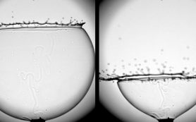 Физики послушали лопающийся мыльный пузырь