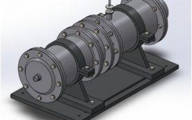 Студент спроектировал схему ракетного двигателя для космических аппаратов