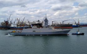 Первый турецкий разведывательный корабль приступил к морским испытаниям