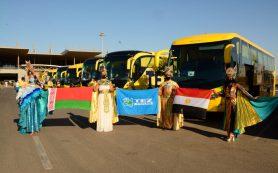 Египет принял первых туристов TEZ TOUR из Минска