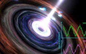 Ученые повторно увидели «сердцебиение» черной дыры в 600 миллионах световых лет от нас