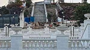 В Керчи завершается реконструкция Большой Митридатской лестницы