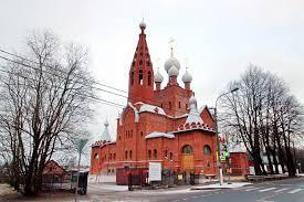 В Петергофе восстанавливают церковь Серафима Саровского
