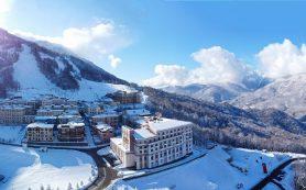 Курорт Красная Поляна первым в Сочи открыл горнолыжный сезон