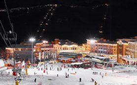 На Курорте Красная Поляна 22 января открывают все горнолыжные трассы и вечернее катание