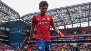Нападающий ЦСКА Нисимура перешел в японский клуб «Вегалта Сендай»
