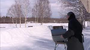 В Костромской области проходит пленэр «Волжский прибой. Грачи прилетели. XXI век»