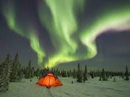 Как образуются полярные сияния?