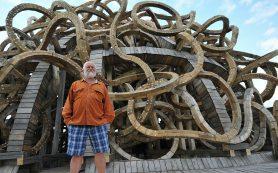 Основатель фестиваля «Архстояние» Николай Полисский впервые представляет в Москве персональную выставку