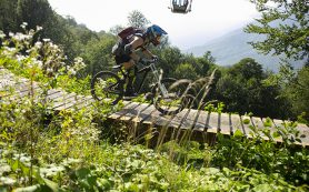 Курорт Красная Поляна проведёт открытую тренировку на горных велосипедах в преддверии Enduro World Series